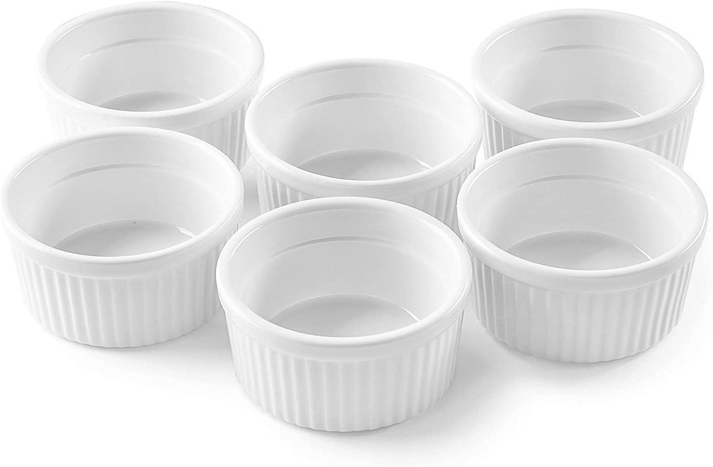 Bellemain Porcelain Ramekins, set of 6 (10 oz.)