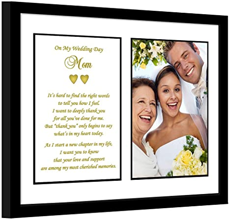 Mother of the Groom GIFT from Son Thank You Wedding Gift for Mom Wedding Frame Mother Groom Parents of the Groom Gift from son Wedding frame