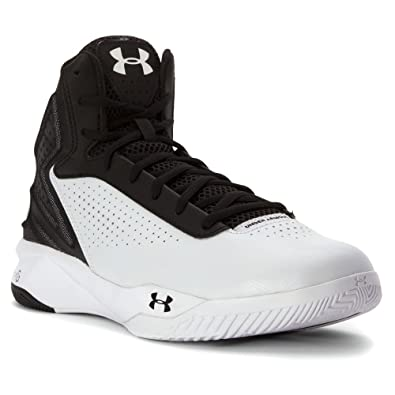 fd92799bff0 Under Armour Womens UA Micro G Torch Basketball Shoes 8 White ...