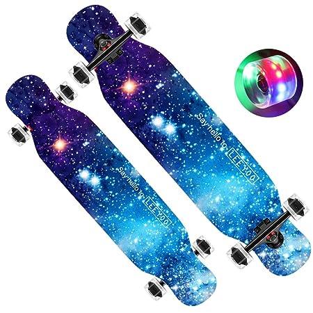 DUWEN-Skateboard monopatín Completo para Principiantes ...