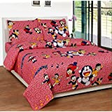 Cartoon special - Double Bad sheet with pillow cover