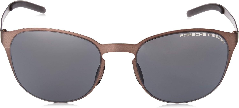silver mirrored Eyeglasses Porsche Design P 8659 A V 279 black//blue