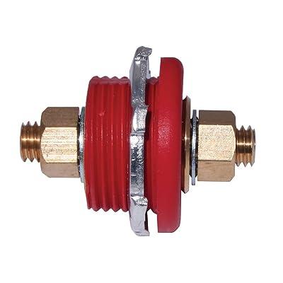 Moroso 74144 Red Thru Panel Connector: Automotive