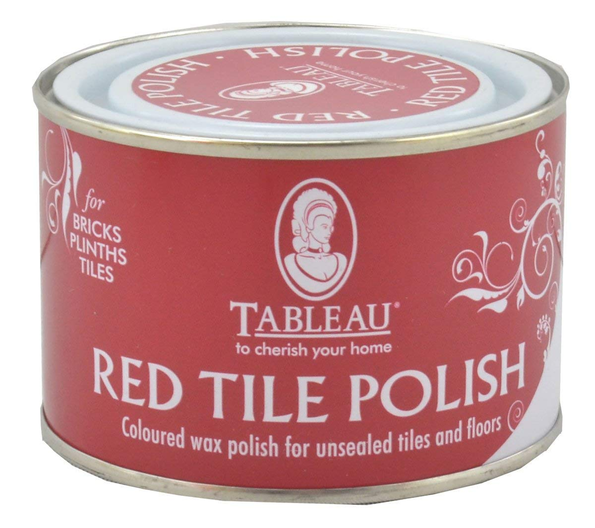 250ml Tableau Red Tile Polish DGN Discount DIY Tools