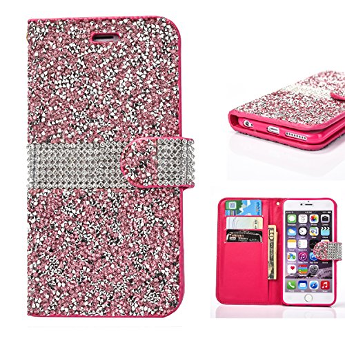 Rhinestone Leather Protective Magnetic Closure product image