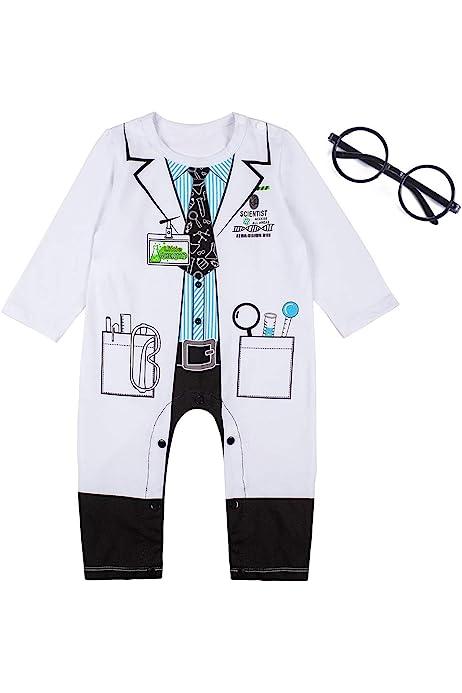 ALNIXU Childrens Lab Coat-Soft Touch