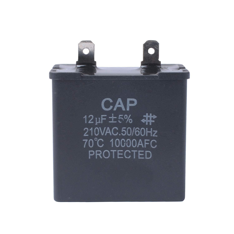WPW10662129 Capacitor Refrigerator for Whirlpool 2169373 W10662129 AP6023677 12uf 250VAC Replacement 2LFA5700W1 3LFA5700W1 3ED22DWXTN01Models