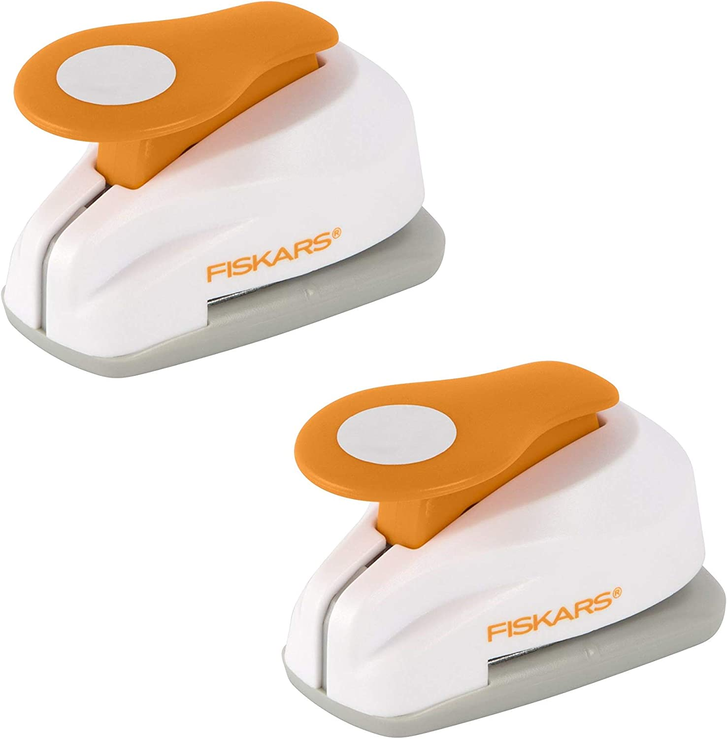 Fiskars Crafts Lever Punch Circle, Small (124830-1002), 2 Pack