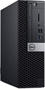 Dell OptiPlex 5070 Small Form Factor Desktop Computer - 3.0 GHz Intel Core i7-9700 Eight-Core - 32GB DDR4-512GB SSD - DVDRW - Windows 10 pro