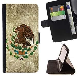 Momo Phone Case / Flip Funda de Cuero Case Cover - EAGLE HAWK CREST - Apple Iphone 6 PLUS 5.5