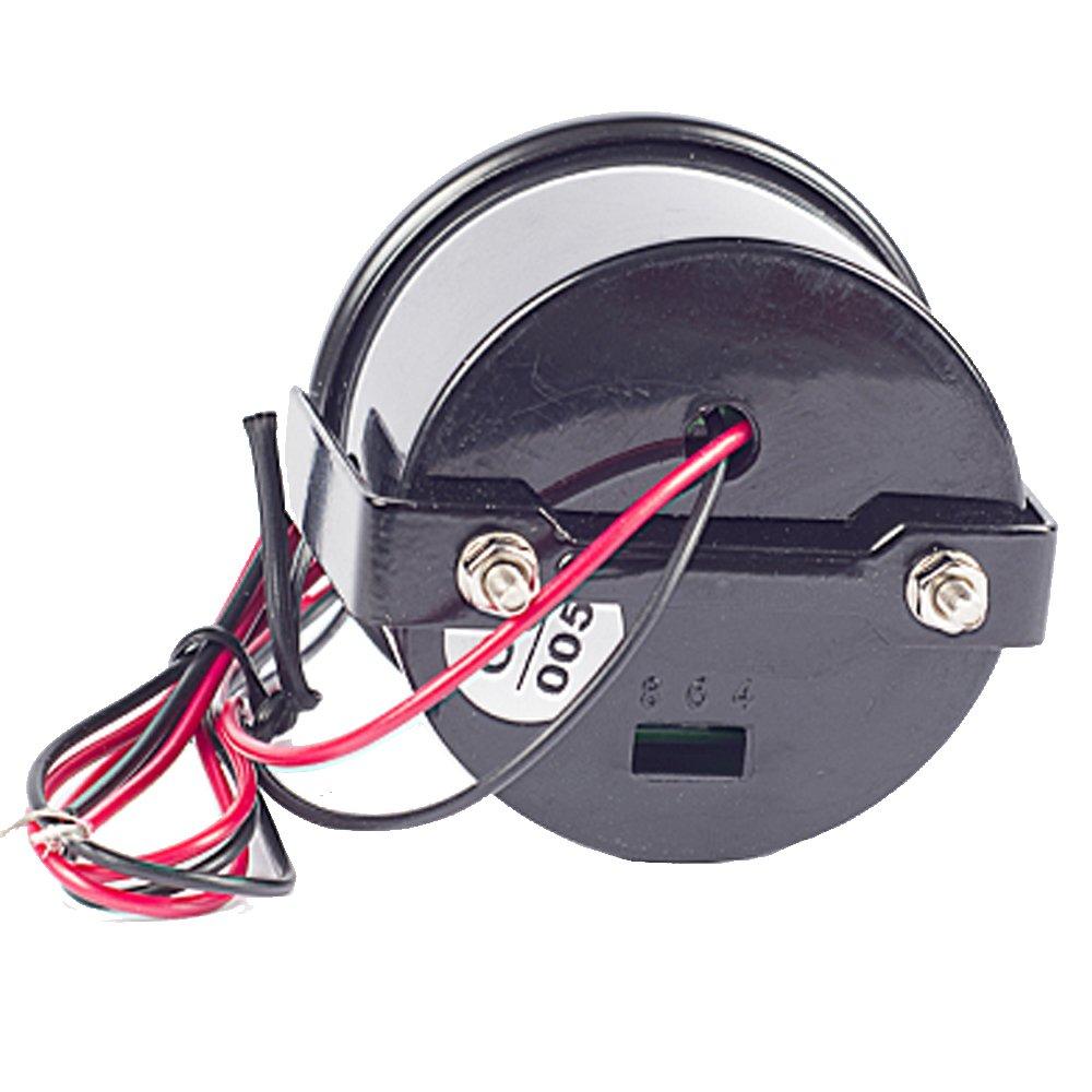 ESUPPORT Car 2 52mm Digital Oil Press Pressure Gauge Blue LED
