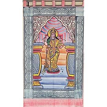 Indian Hindu Tie Dye Goddess Wall Hanging Poster Cloth Tapestry set of 25 Pcs