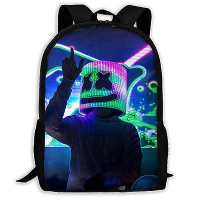 Malcolm Eddie Children's School Bags Marsh-Mello 3D Print Backpacks Kids Daypack For Boys Girls   Kids' Backpacks