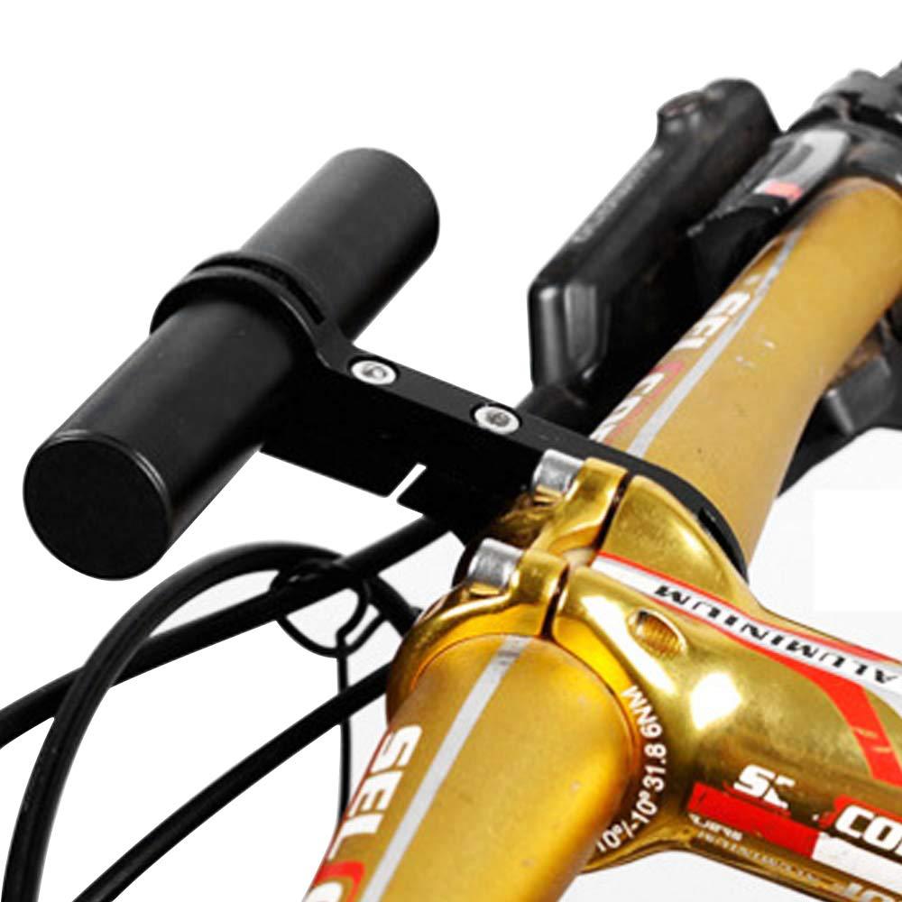 Gasea 10cm Longeur Extension de Guidon de V/élo Extender Bracket Lampe Lumi/ère T/él/éphone Support dExtension pour Guidon de V/élo avec Support en Alliage dAluminium pour Guidon de 25,5mm /à 31,5mm