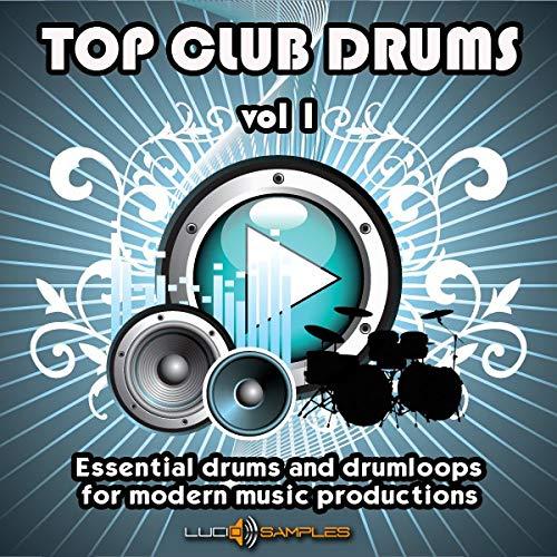 (Top Club Drums Vol 1 - 2888 Drums and Drum Loops, Drum Sample Pack [Apple Loops/ AIFF])