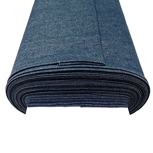 "1921 Denim Jeans - Denim Fabric, 62-64"" Wide, 100% Cotton, Over 100 Yards In Stock – Powder Blue Denim"