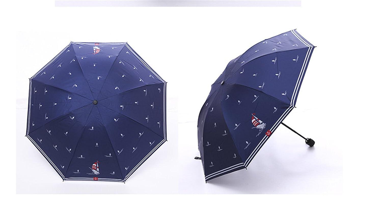 Amazon.com: GKRY Fashion Art Umbrella/Windproof Travel Umbrellas/Folding Umbrella/for Business and Travels/SPF 358+ SUN RAIN Umbrella/RAIN Umbrella The ...