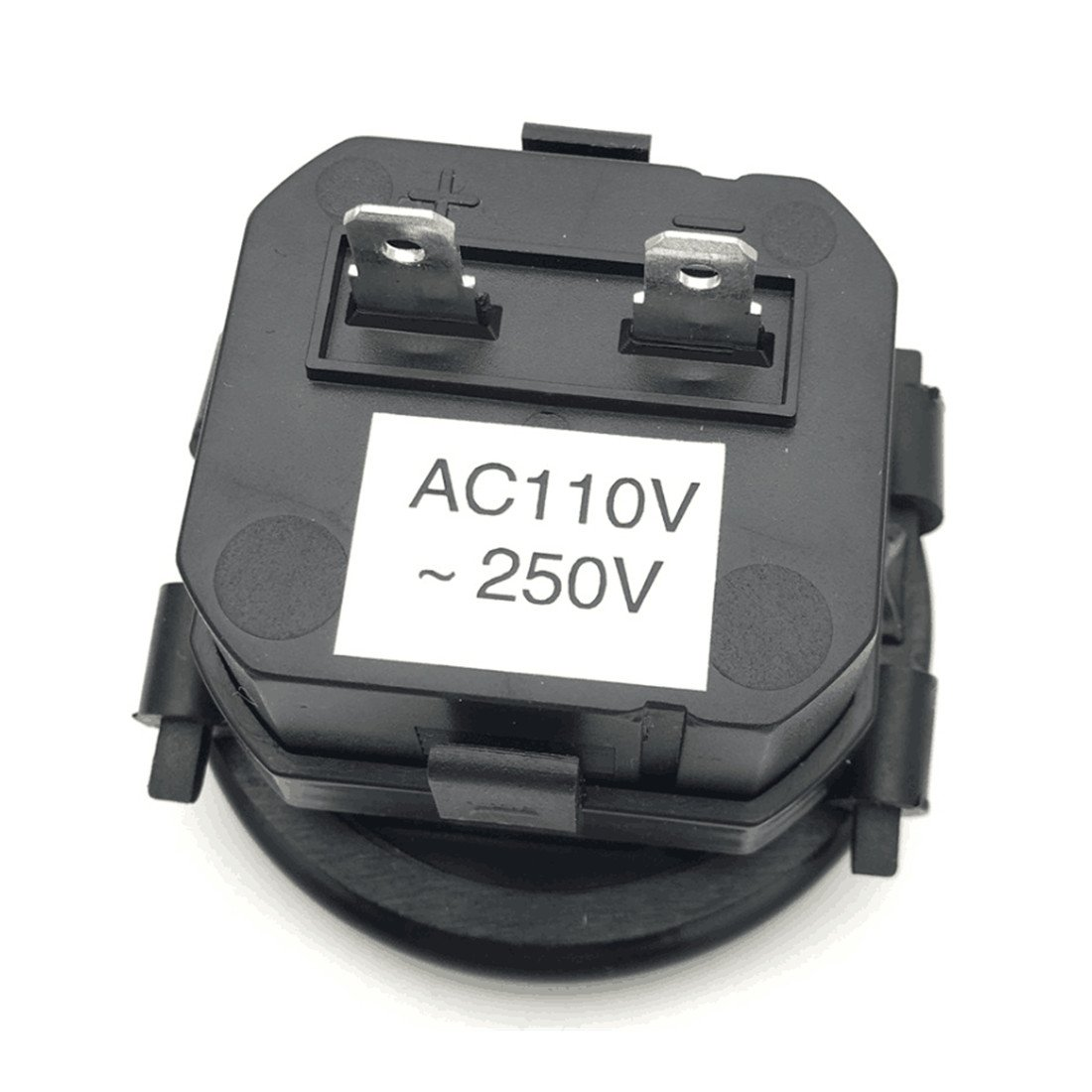 AC110-250V AIMILAR Mechanical Hour Meter Gauge Professional Engine Hourmeter AC110-250V for Boat Auto ATV UTV Snowmobile Lawn Tractors Generators 4350402307