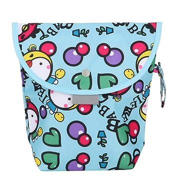 Waterproof Baby Pram Stroller Dirty Cloth Diaper Nappy Storage Organizer Bag S