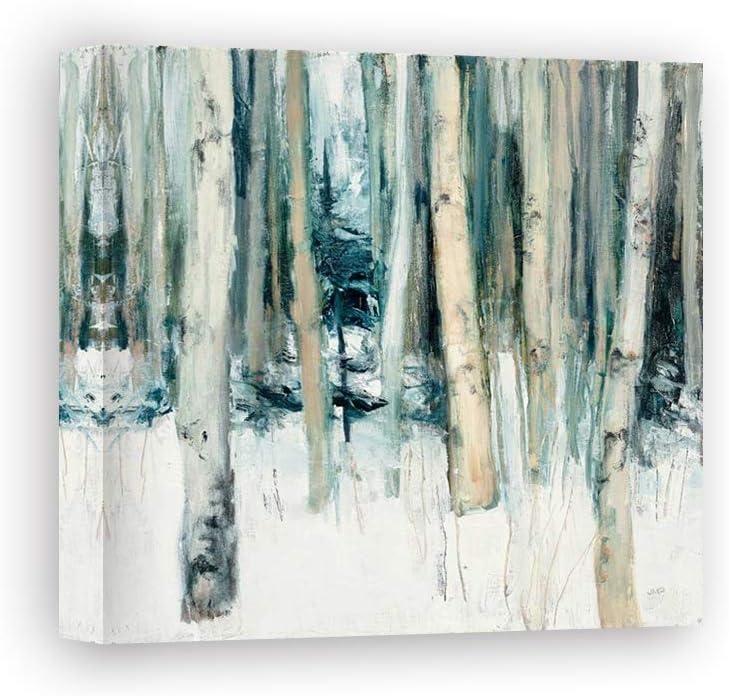 Impresión sobre Lienzo Wall Art Purinton Julia Winter Woods II: Amazon.es: Hogar
