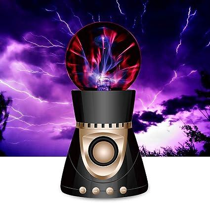 MRXUE Lumière de Nuit de Boule de Plasma avec Bluetooth Haut