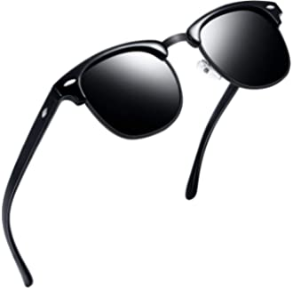 f9d9b010415  3 Joopin Semi Rimless Polarized Sunglasses Women Men Retro Brand Sun  Glasses