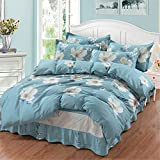 ultronplus Bedding 100% Natural Washed Cotton 3 Piece Duvet Cover Set Ultra Soft and Easy Care Fade Resistant Modern Bedding Set for All Season (Mirror, Full(79x90 Inch))