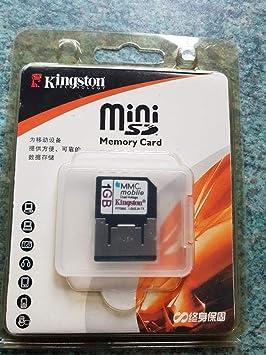 HP 1 GB Kingston Tarjeta de Memoria MMC móvil: Amazon.es ...