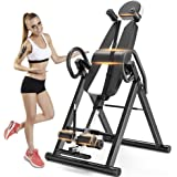 Yoleo Gravity Heavy Duty Inversion Table with Adjustable Headrest & Protective Belt