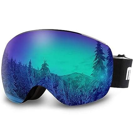 97c9147da8b6 Amazon.com   AKASO OTG Ski Goggles