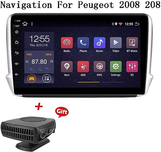 Xbrmmm Android 8 1 Autoradio Für Peugeot 2008 208 2014 2018 Autoradio Gps Navigation 9zoll Touch Display Auto Media Player Unterstützung Bildschirm Spiegel Wifi Bluetooth Lenkradsteuerung Küche Haushalt