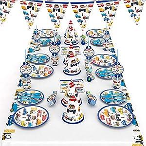 Cars 3 Cumpleaños Decoración de cumpleaños, 50 piezas para ...