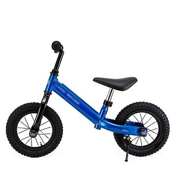 DUWEN Bicicleta Infantil de Dos Ruedas con Ruedas para niños sin Equilibrio Scooter de 2 a 6 años (Color : Azul): Amazon.es: Deportes y aire libre