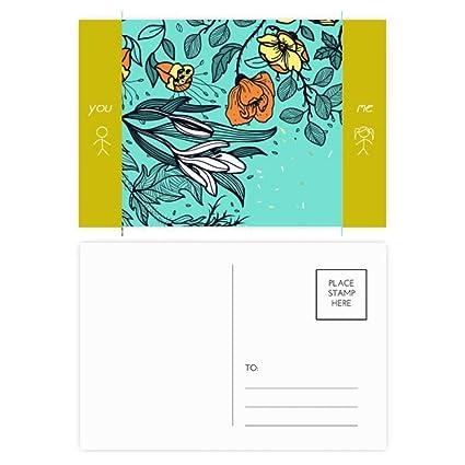 DIYthinker Arte Moderno Lily Camellia Dibujo amigo tarjetas ...