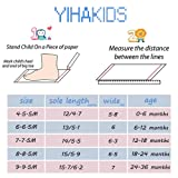 YIHAKIDS Baby Sneaker Genuine Leather Soft Suede