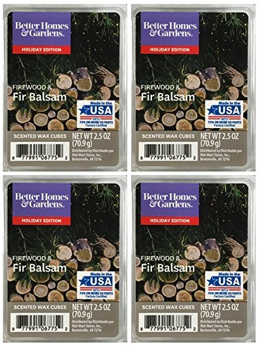 Better Homes and Gardens Firewood and Fir Balsam Scented Wax