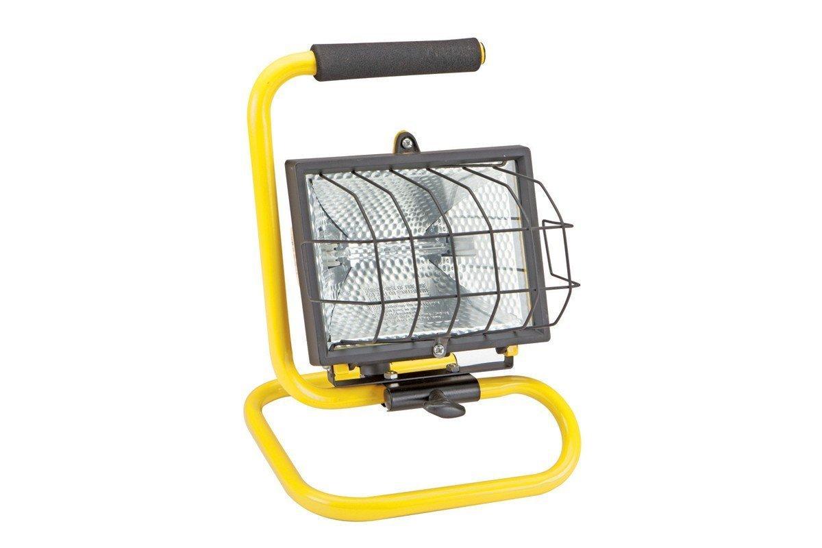 LUMINAR WORK™ 500W 120V Portable Halogen Shop Light