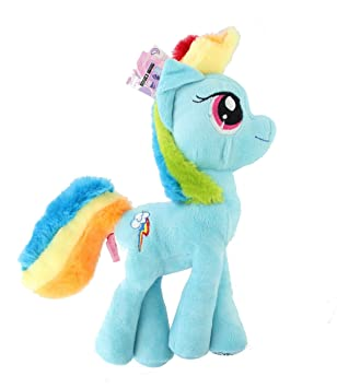 Filly My Little Pony Peluche Rainbow Dash ""