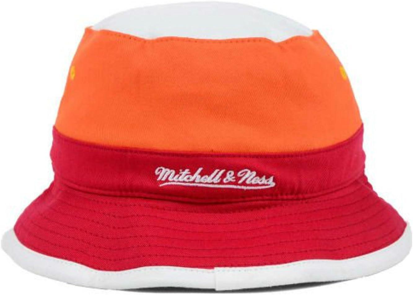 Best Fits 7-7 1//2 Genuine Merchandise Miami Heat Color Block Bucket Hat Cap Small//Medium Team Colors