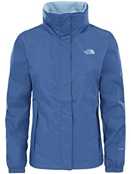 The North Face W Resolve 2 Chaqueta, Mujer, Azul ...