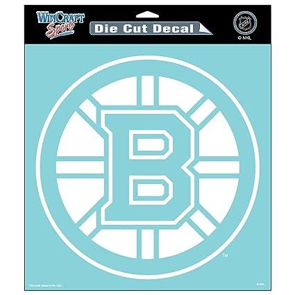 Wincraft nhl boston bruins die cut decal 8x8