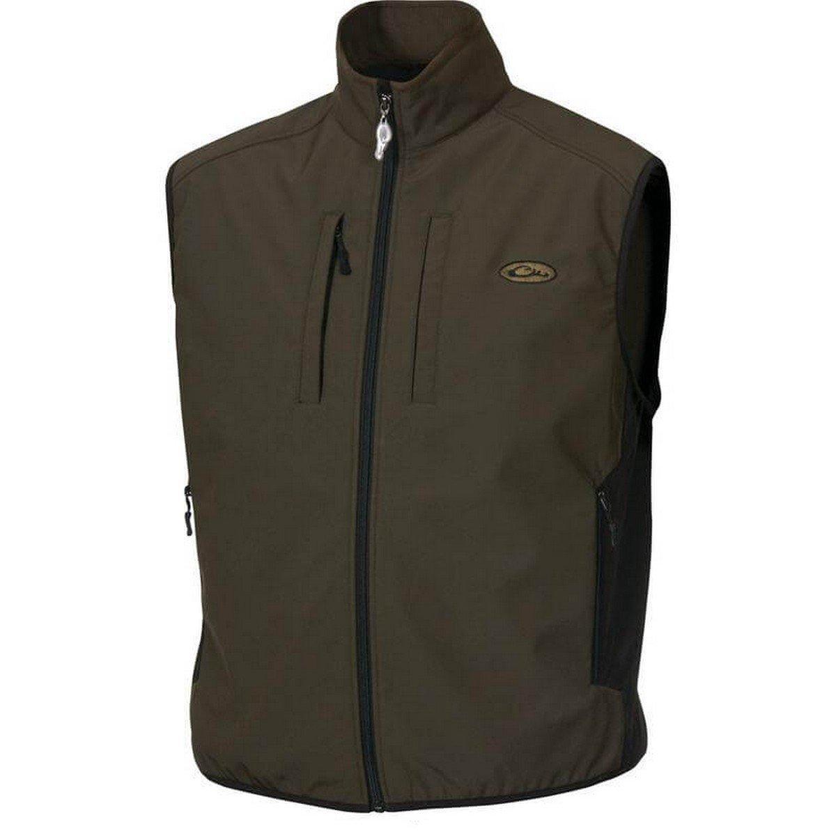 Drake Windproof Tech Vest, Color: Olive, Size: Medium (DW1602-OLV-2)