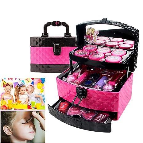 Aiwer Set de Maquillaje para niños Estuche de cosméticos 3 ...