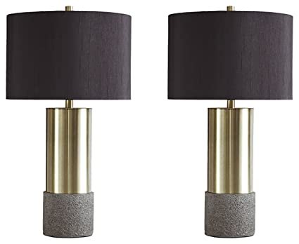 Gray Table Lamps Unique Ashley Furniture Signature Design Jacek Table Lamps Set Of 60