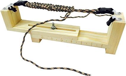 Paracord Braiding Weaving DIY Craft Tool Kit Rope Fozela Jig Bracelet Maker