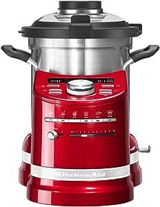 KitchenAid 5KCF0103EER ARTISAN COOK PROCESSOR, Empire - Robot de cocina, color rojo: Amazon.es: Hogar