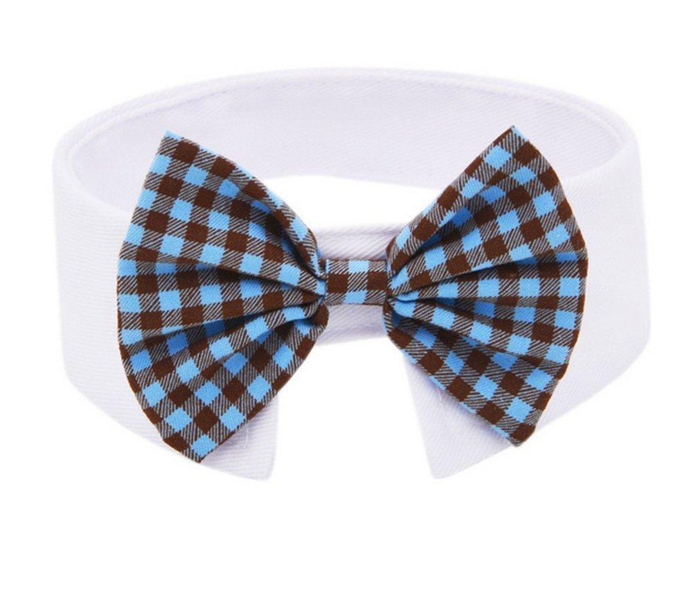 1X Toruiwa Fliege Haustier Hund Katze Bowtie Einstellbare Krawatte Kragen Hunde Katzen Halsband Dekoration Bow Tie Collar