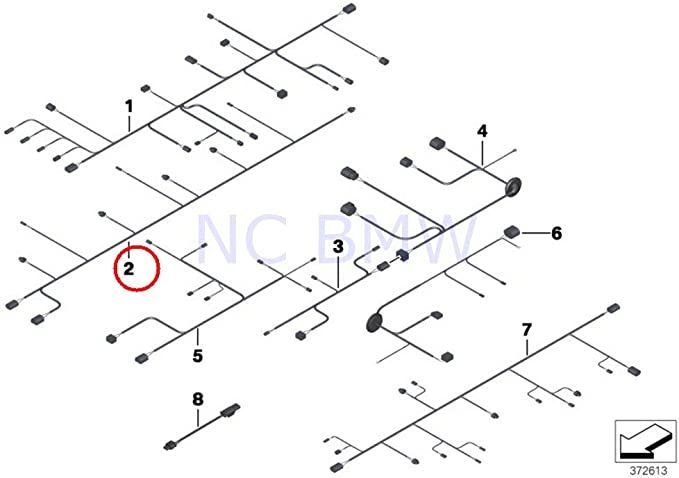 [SCHEMATICS_44OR]  Amazon.com: BMW Genuine Rear Pdc Module Wiring Harness: Automotive | 2010 Bmw F01 Wiring Diagram Ac |  | Amazon.com