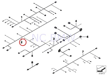 Strange Amazon Com Bmw Genuine Rear Pdc Module Wiring Harness Automotive Wiring 101 Capemaxxcnl