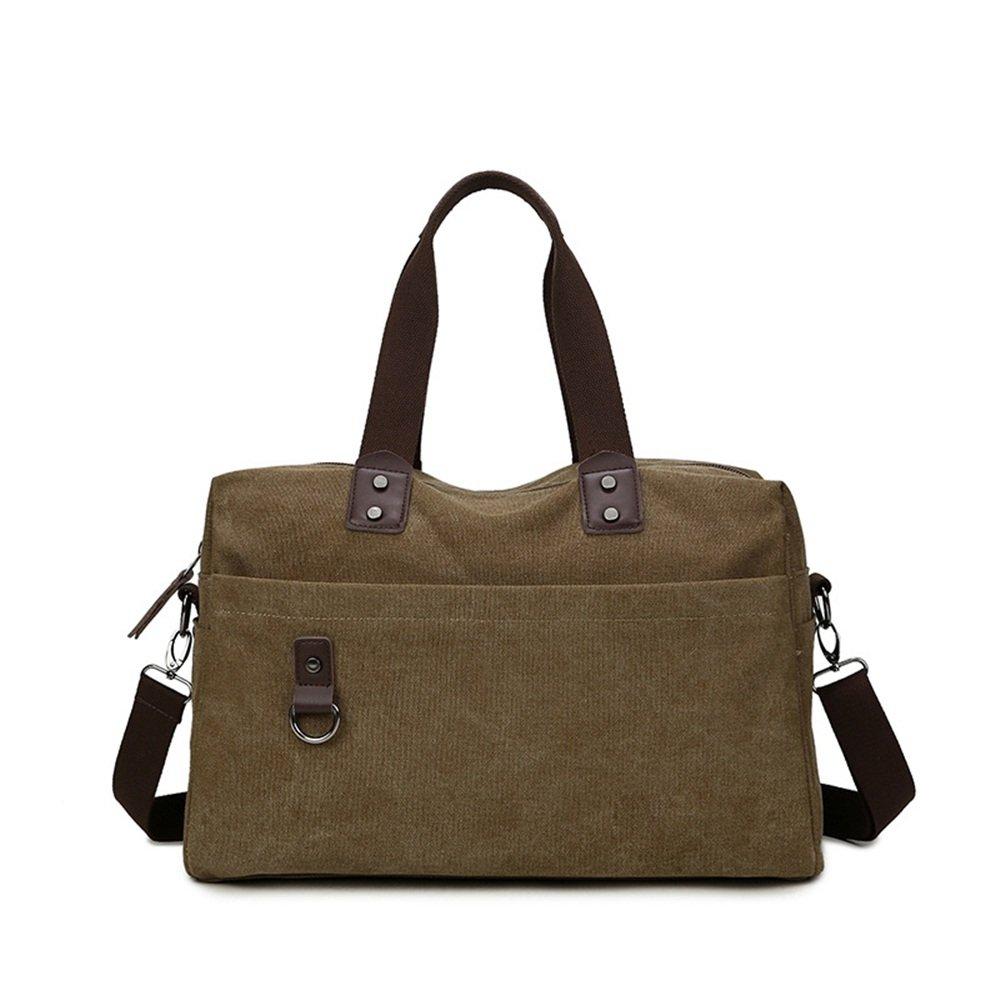 Ybriefbag Unisex Canvas Bag Canvas Shoulder Bag Man Portable Multifunctional Household Business Layman Li Bao Vacation